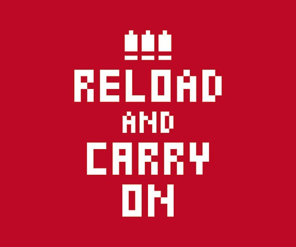 reload and carry on poster