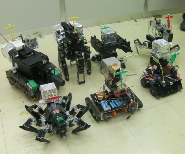 Robot Survival Games: Proxy Airsoft
