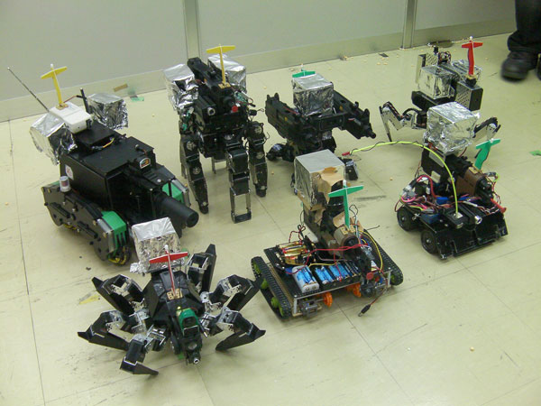 robot survival games