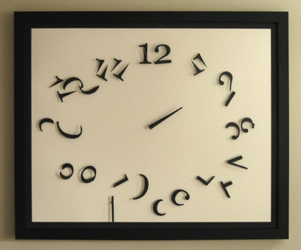 Order in Chaos Clock is Chaotic