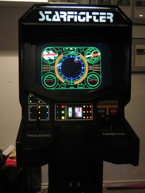 starfighter arcade cabinet