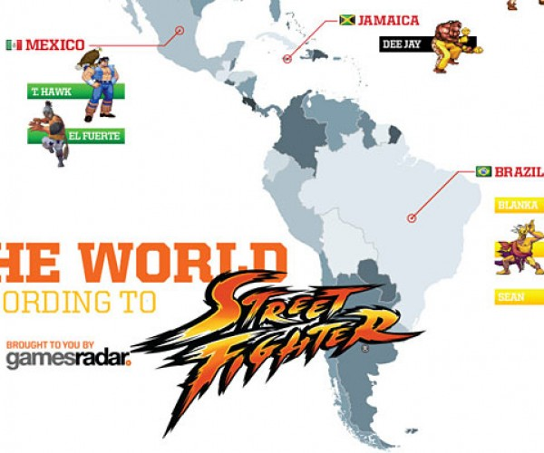 street fighter world map 2