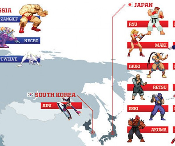 street fighter world map 4
