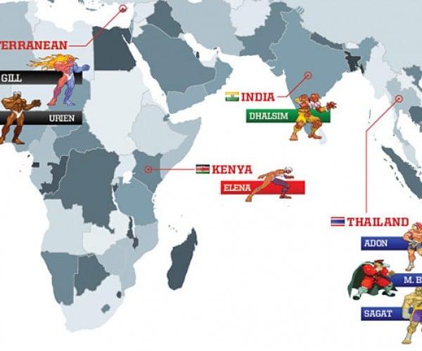 street fighter world map 5