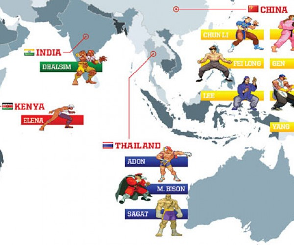 street fighter world map 6