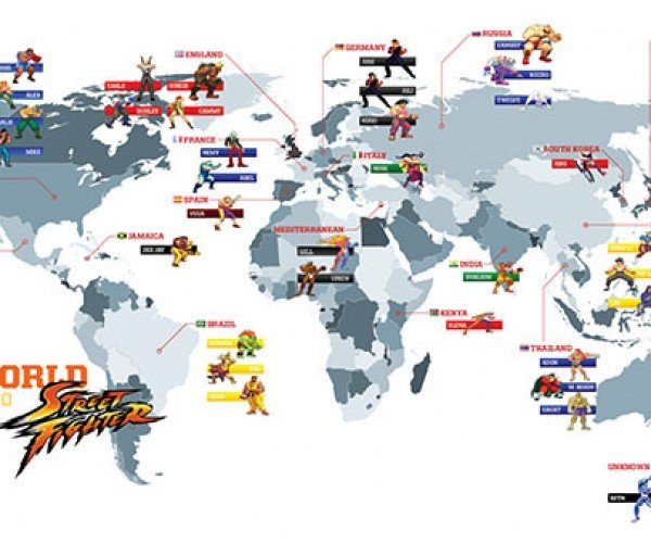 street fighter world map 8