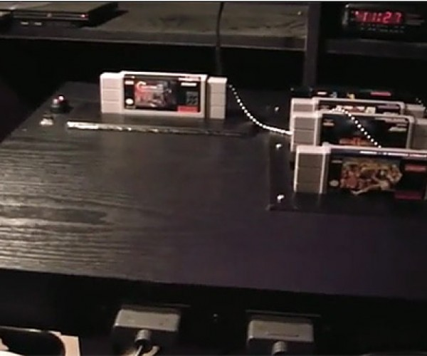 Super Nintendo + Table = Super Nintable Ftw!