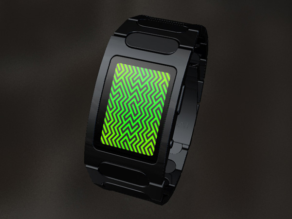 tokyoflash optical illusion concept watch