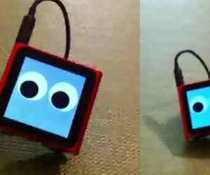 IPod Nano 6g Sprouts Legs and Walks