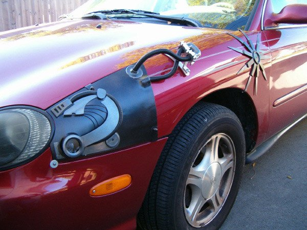 the borg star trek science-fiction make car mod craig smith