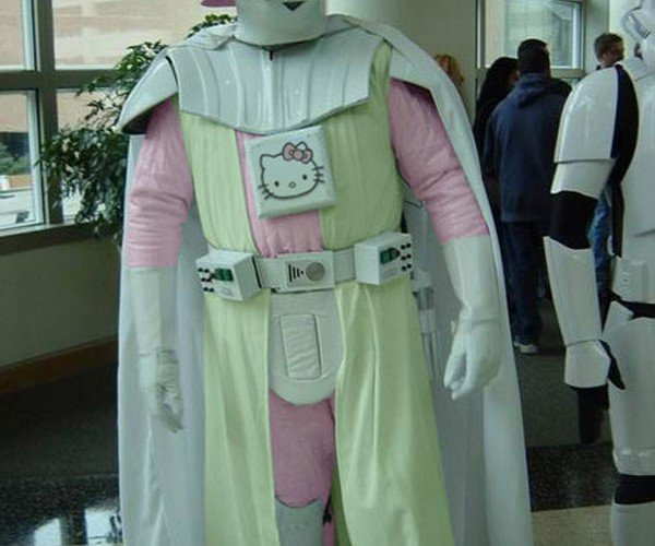 Hello Kitty & White Darth Vaders: the Lighter Side of the Dark Side of the Force