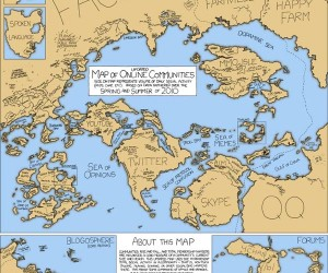 Xkcd'S Updated Map of Online Communities: Farmville is Going to Take Over