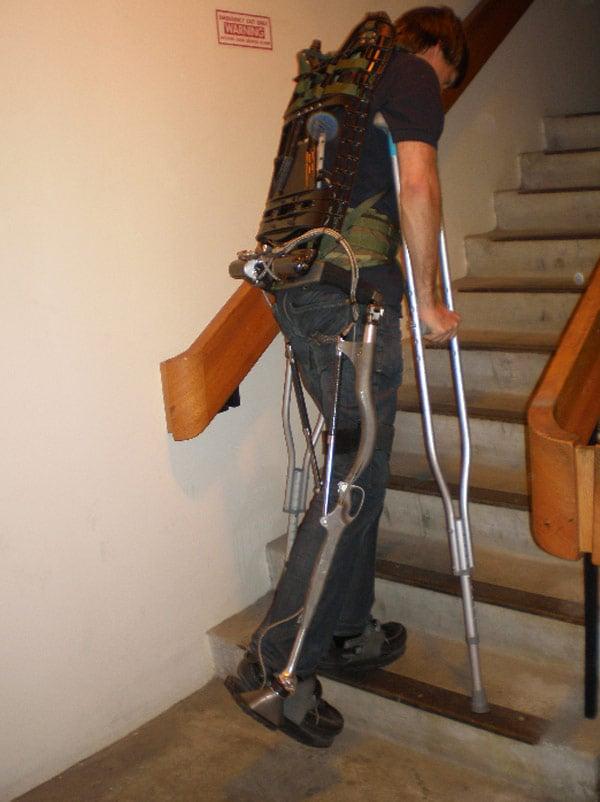 elegs berkeley bionics robotics cyborg medical exoskeleton
