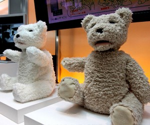 Fujitsu Robot Teddy Bear is Ready to Creep Everyone Out
