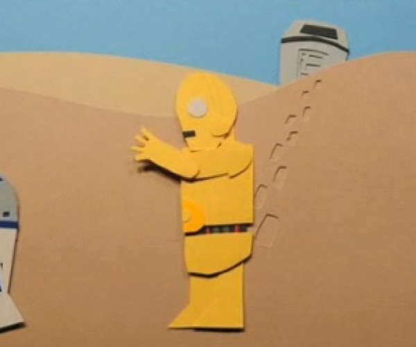 Tatooine: Jeremy Messersmith'S Music Video Retells Original Trilogy in 2 Amazing Papercrafted Minutes