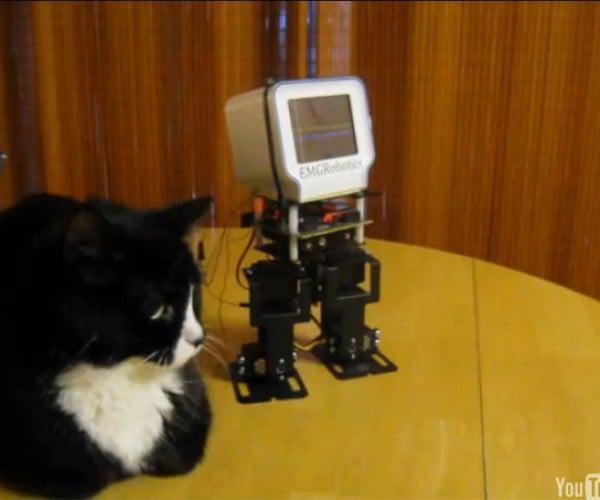 Chumby-Headed Robot: Going Everywhere Slowly