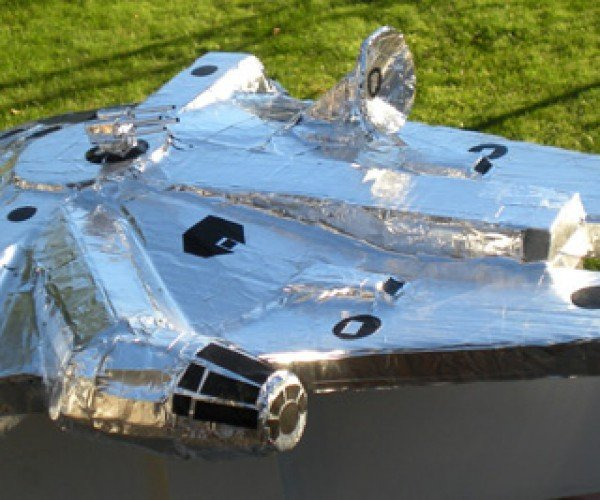 An Aluminum Millennium Falcon to Go With Your Duct Tape at-at