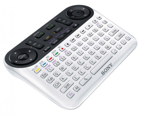 sony google tv qwerty remote NSG-MR1