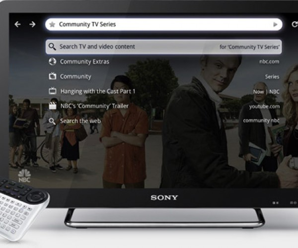 sony google tv interface