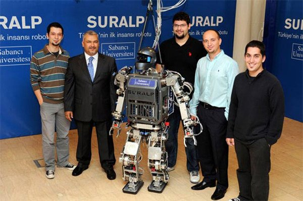suralp robot turkey iron man robotics humanoid