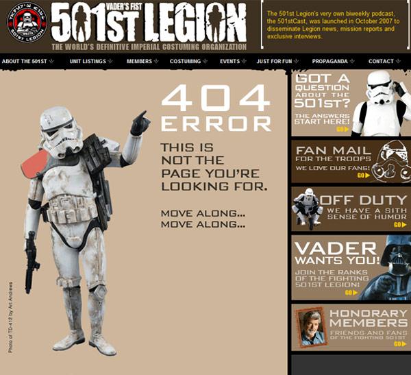 stormtrooper error 404 star wars sandtrooper