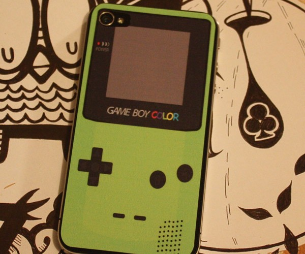 Game Boy Color iPhone 4 Decal: Nintendophone
