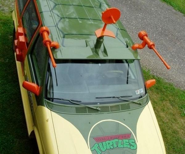 Teenage Mutant Ninja Turtles: the Minivan