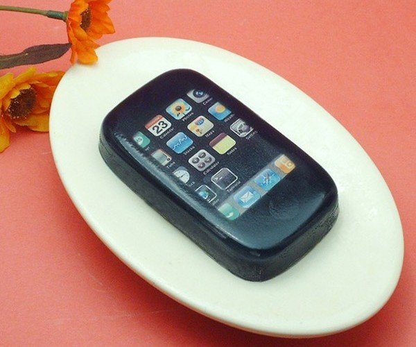Grilled Sausage Scented iPhone Soap: Wtf?