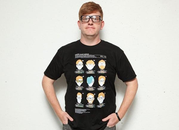 t-shirt geek wear nerd threadless