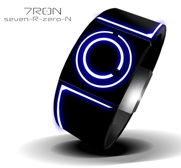 7r0n tron inspired watch