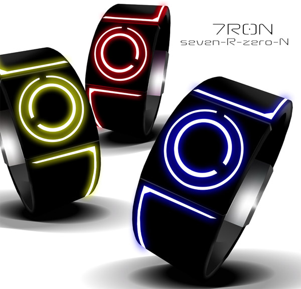 7r0n tron inspired watch 3