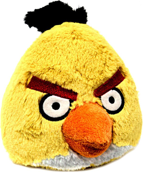 Angry Birds Toys : Angry birds slingshot to the real world as plush toys