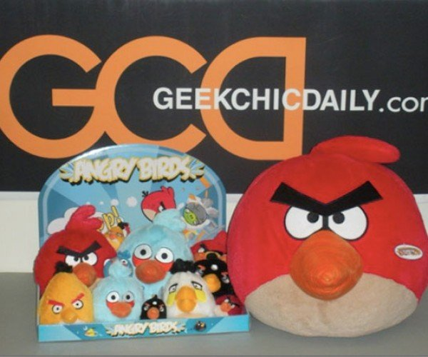 Angry Birds Slingshot to the Real World as Plush Toys