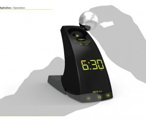 Aphelion Concept Alarm Clock Likes to Play Catch