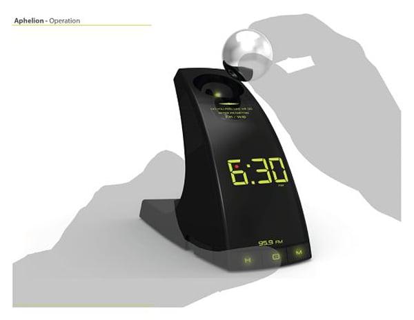 aphelion concept alarm clock 2
