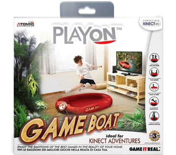 atomic accessories kinect game boat