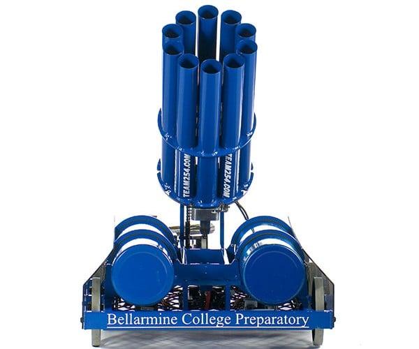 bellarmine college team 254 t-shirt cannon robot 2