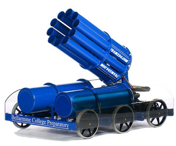 T-Shirt Cannon Robot: Death by Cotton