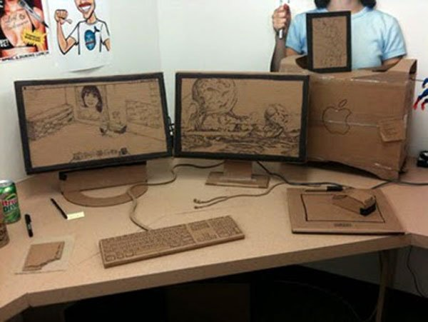f ing epic cardboard cubicle prank proves these guys don t have