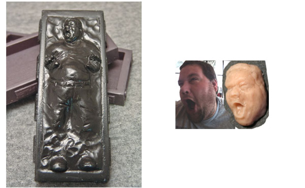 custom carbonite statuette