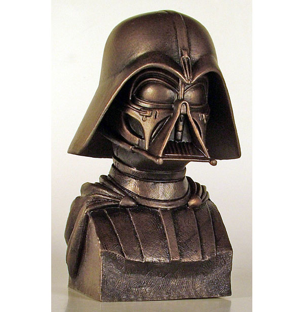 darth vader mcquarrie bronze bust