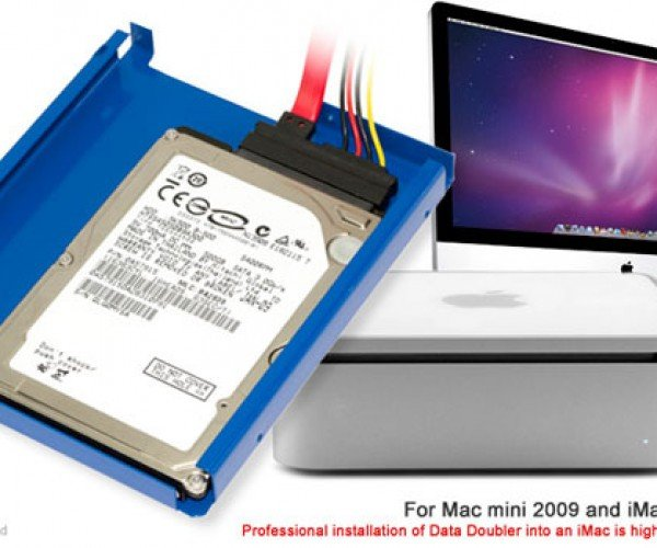 Owc Data Doubler Adds Extra Hard Drive to Your iMac or Mac Mini