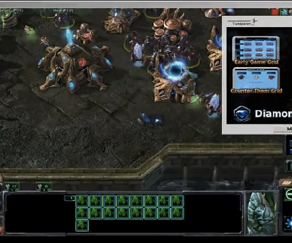 Diamond Gamer Starcraft 2 Strategy Add-on Lets You Play and Learn at the Same Time