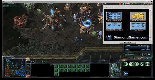 diamond gamer starcraft 2 strategy add on