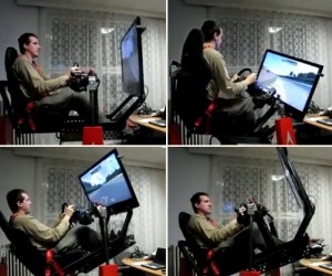 DIY Formula One Simulator Looks More Like the Deadliest Catch Simulator
