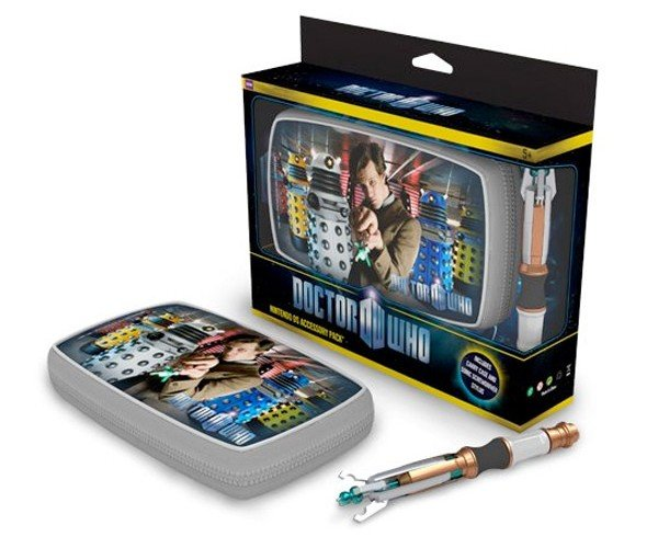 Doctor Who Nintendo Ds Case Comes With Sonic Screwdriver Stylus