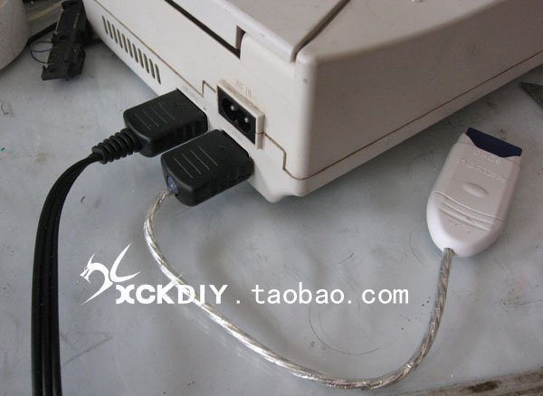 dreamcast sd adapter