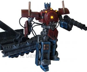 Encline Designs Custom Figures: Transformers Transformed
