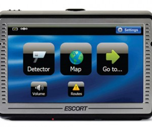 Escort Passport Iq Rolls Gps and Radar Detector Into One Device