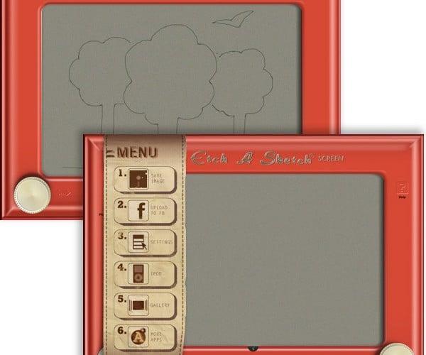IPad Gets Official Etch a Sketch HD App